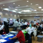 At the 2012 Las Vegas Veteran's Stand Down: Special thanks to our Vets!;