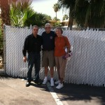 With Bill & Marge Towers at our Veteran's Village. Bill is a retired Navy Seal. Thank you Bill for serving our country-;