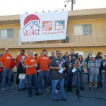 Veterans Village Home Depot Celebration of Service