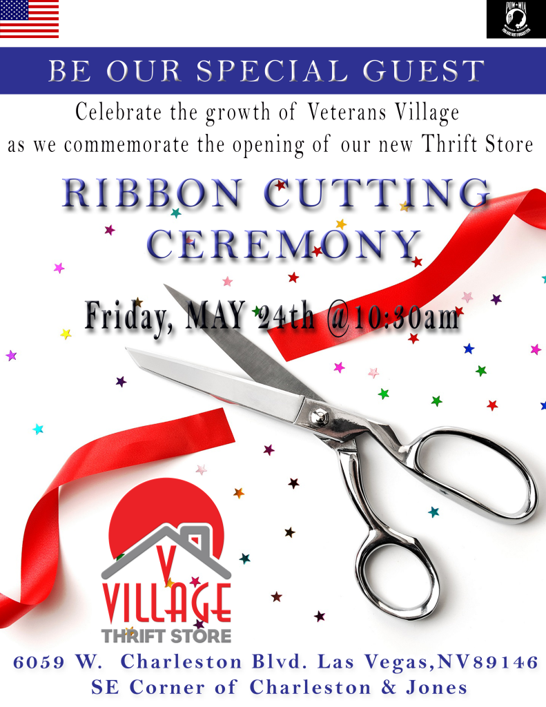 Veterans Village Las Vegas Thrift Store Grand Opening