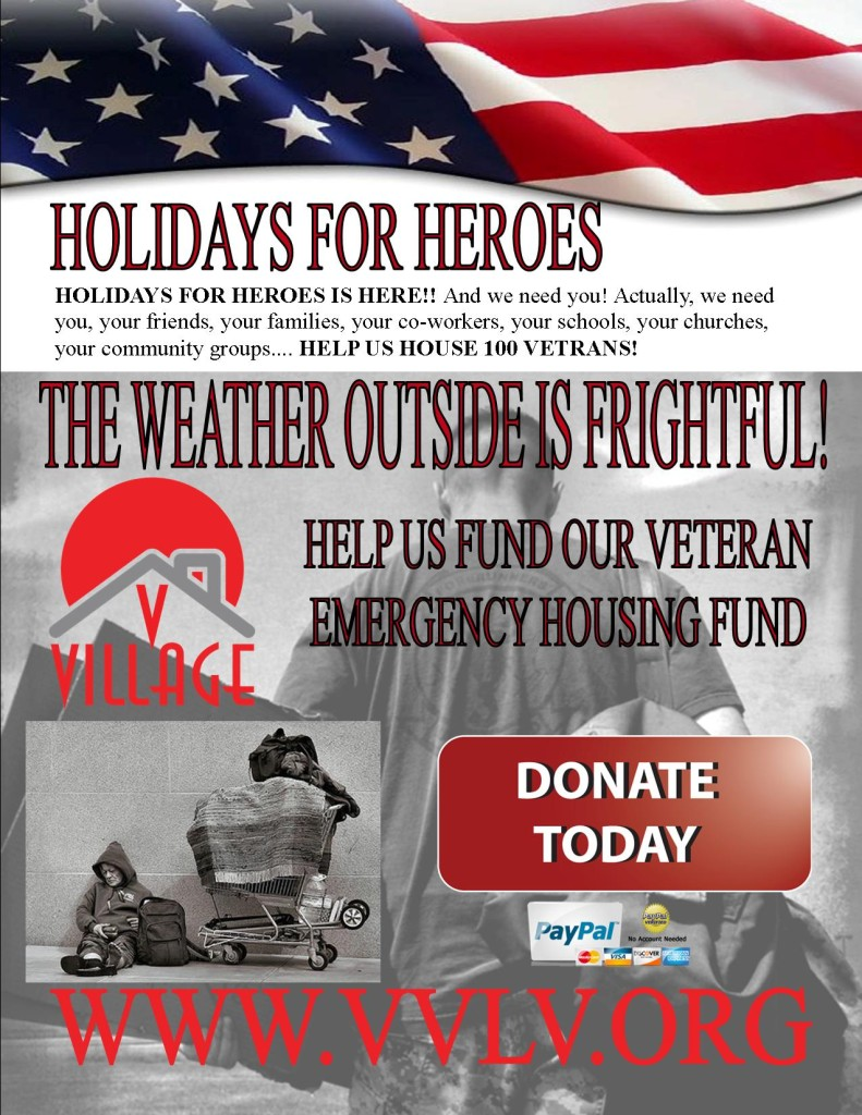 holidays for heroes